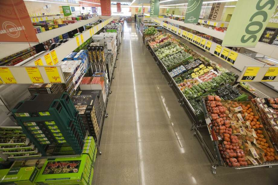 The new Aldi grocery store April 7, 2013 in Katy, TX.  Eric Kayne/For the Chronicle