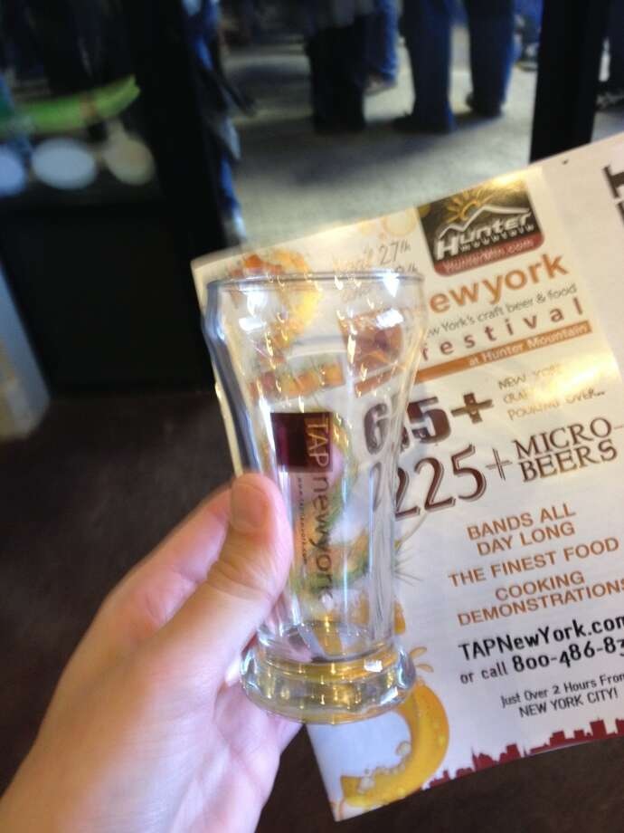 The 8oz VIP tasting glass and the program.
