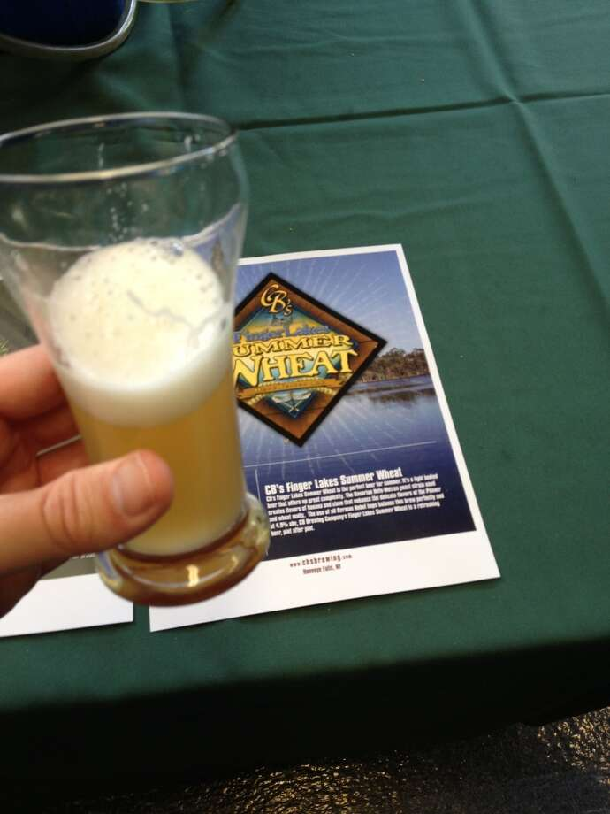 Custom Brew Crafters Summer Wheat. It's a summer wheat alright.