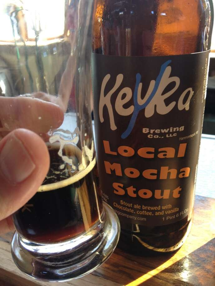 "Keyuka ""Local Mocha Stout"" - another solid coffee/chocolate stout, but it's been done."