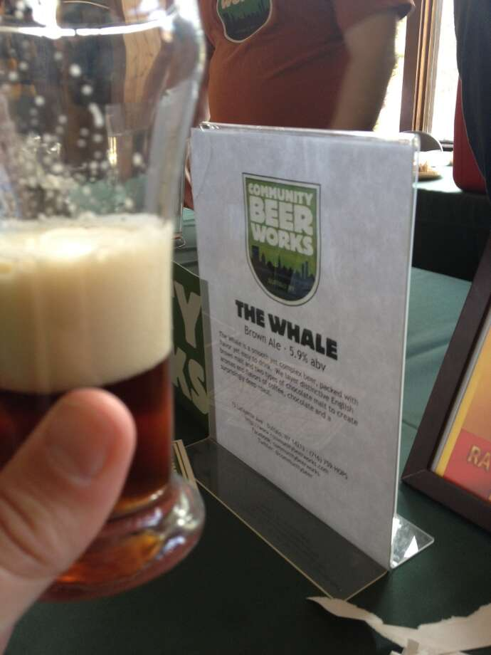 "Community Beer Works ""The Whale"" - an American brown ale with chutzpah!"