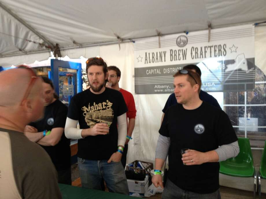 The Albany Brew Crafters recruiting table :)