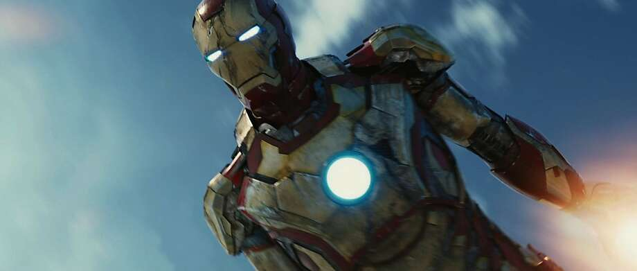 """The suit in the """"Iron Man"""" movies has inspired the U.S. military to try its hand at exoskeleton armor. Photo: Walt Disney Films"""