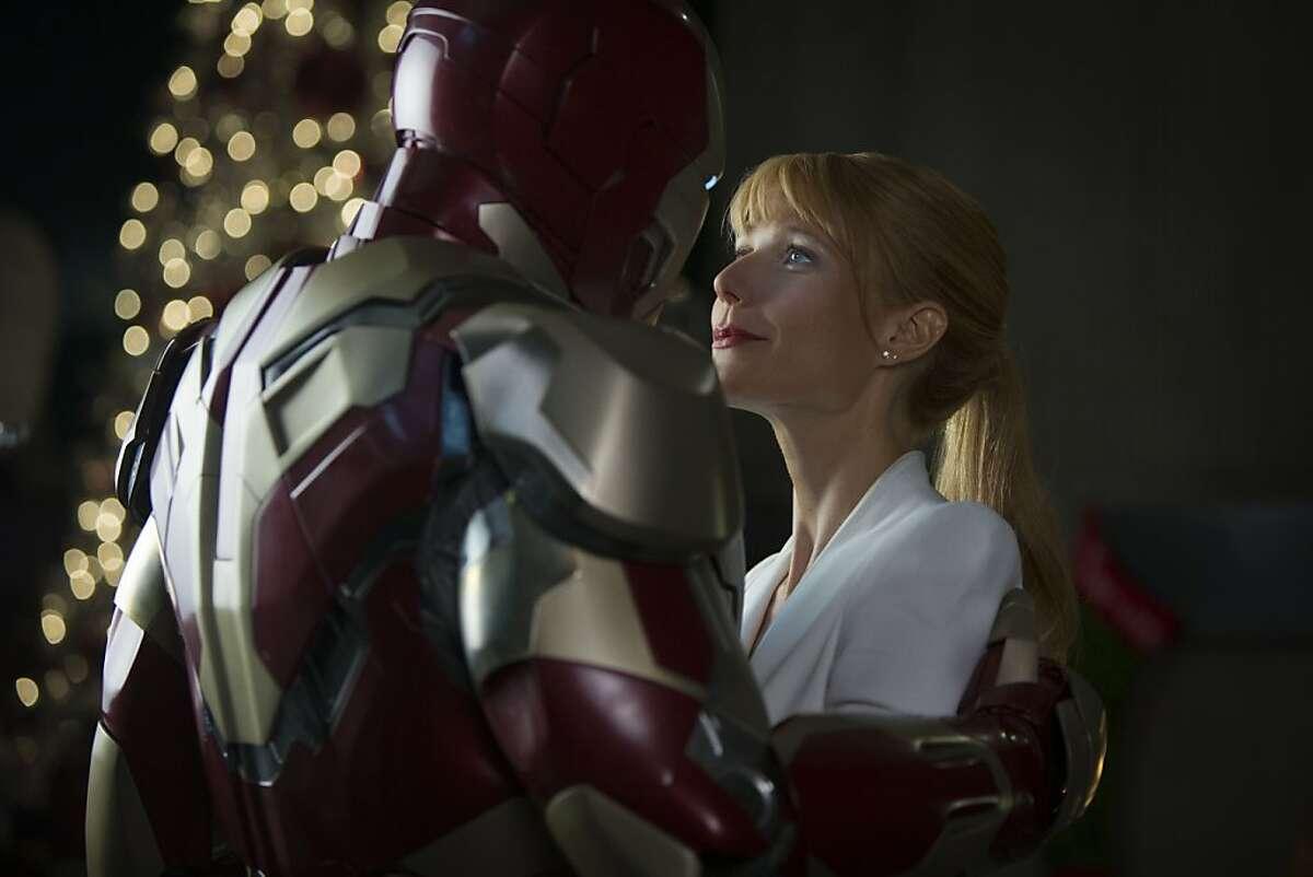 Pepper Potts (Gwyneth Paltrow) in Iron Man 3.