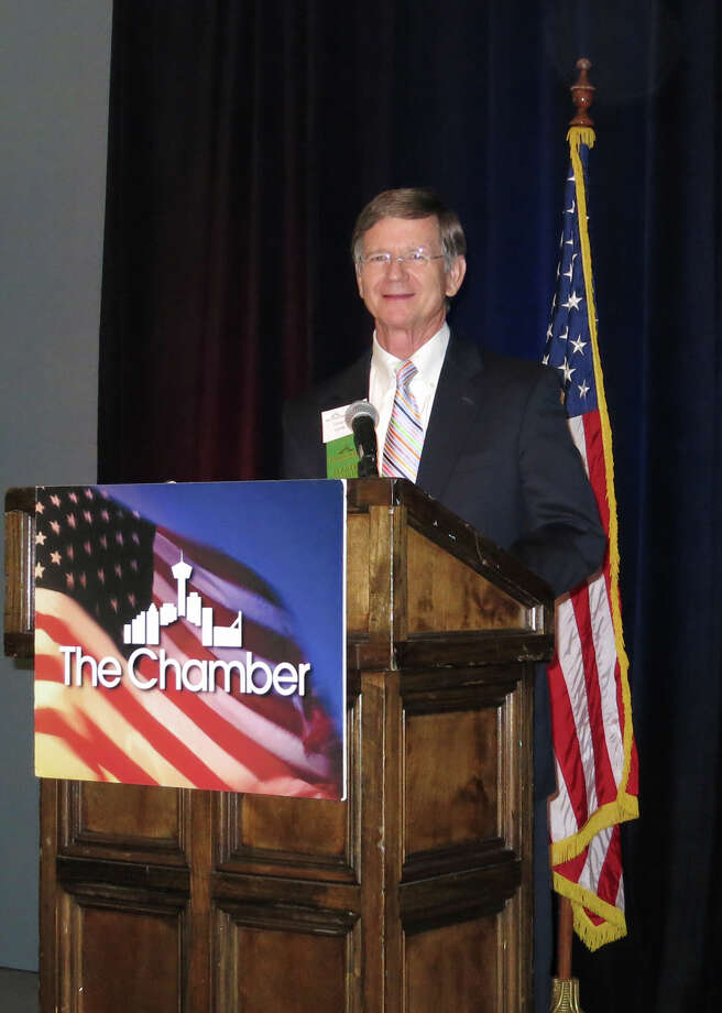 We urge U.S. Rep. Lamar Smith, R-San Antonio, to support the MarketPlace  Fairness Act, which is pending in the House Judiciary Committee. Photo: John Gonzalez, San Antonio Express-News / San Antonio Express-News