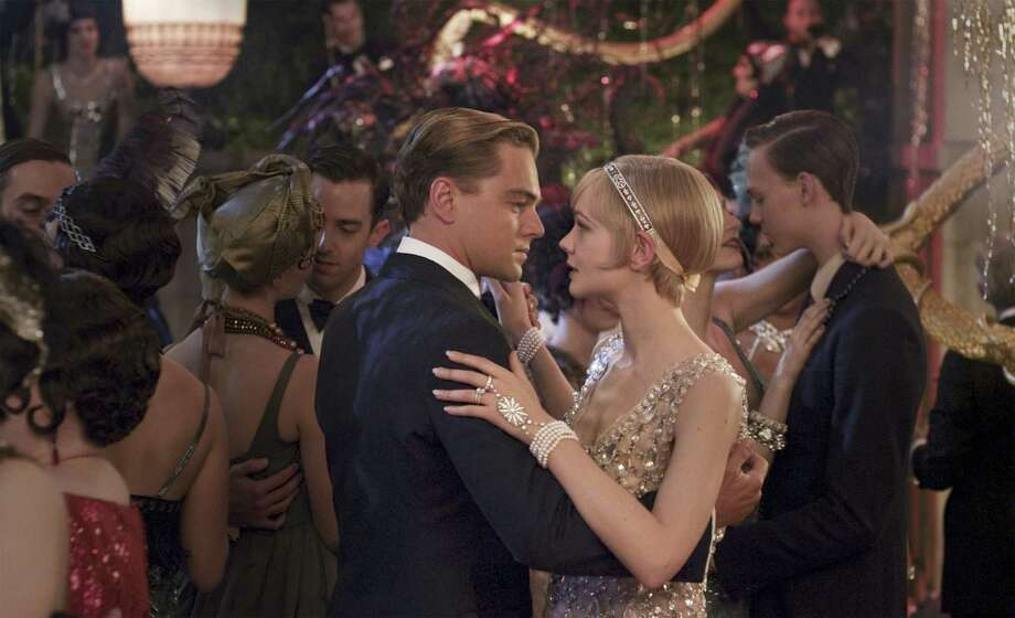 "Leonardo DiCaprio portrays Jay Gatsby and Carey Mulligan is his love interest in ""The Great Gatsby."" Photo: Warner Bros. Pictures"