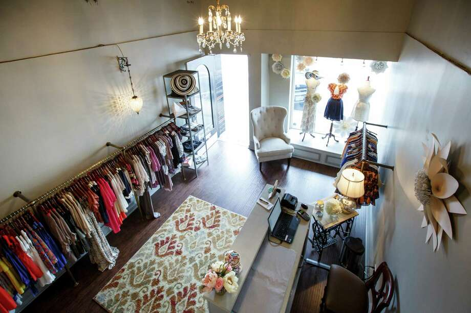 The Annie Allbritton Clothing and Boutique store on West Gray, Friday, April 26, 2013, in Houston.  The store is owned by Annie Odum, who graduated from Louisiana State University with a fashion degree.  ( Michael Paulsen / Houston Chronicle ) Photo: Michael Paulsen, Staff / © 2013 Houston Chronicle