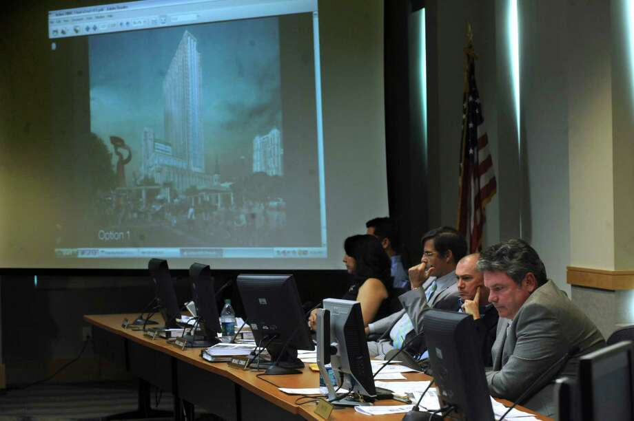 The Historic Design and Review Committee last month voted against approving the project. Photo: Billy Calzada, San Antonio Express-News / San Antonio Express-News