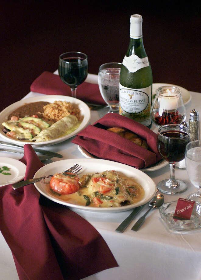 Ernesto's Restaurant: 19792559 Jackson Keller Rd, (210) 344-1248, www.ernestosgourmet.com Photo: TOM REEL, SAN ANTONIO EXPRESS-NEWS / SAN ANTONIO EXPRESS-NEWS