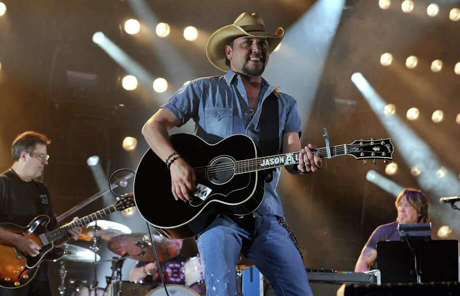 Jason Aldean will perform Sunday at Austin 360. Photo: Frederick Breedon IV / Getty Images
