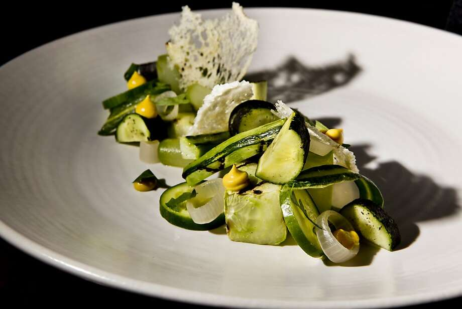 Cucumber at Aziza in 2009. Photo: Russell Yip, The Chronicle