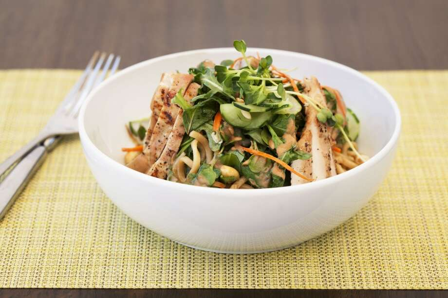Hunan Grilled Chicken Salad. ($14)