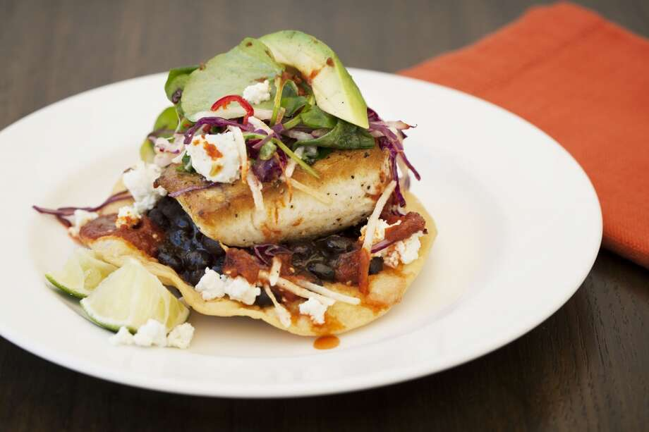Fish tostada, on the menu at Cindy's Waterfront. AQ