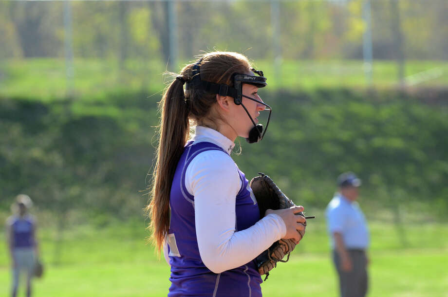Westhill's Tammy Wise (2) during the softball game against Stamford at Westhill High School in Stamford on Wednesday, May 1, 2013. Photo: Amy Mortensen / Connecticut Post Freelance