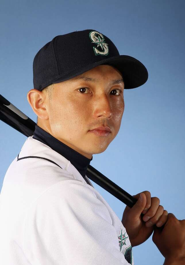 Munenori Kawasaki #61 of the Seattle Mariners poses for a portrait during spring training photo day at Peoria Stadium on February 21, 2012 in Peoria, Arizona. Photo: Christian Petersen, Getty Images / 2012 Getty Images