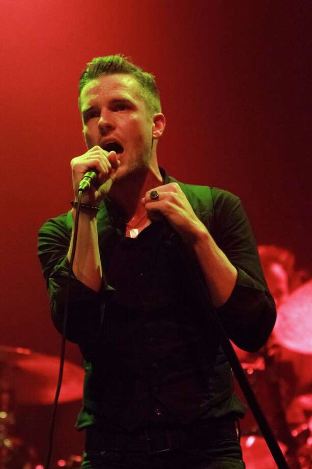 LEEDS, UNITED KINGDOM - AUGUST 17: Brandon Flowers of The Killers performs on stage at O2 Academy on August 17, 2012 in Leeds, United Kingdom. (Photo by Andrew Benge/Redferns via Getty Images) Photo: Andrew Benge, Contributor / 2012 Andrew Benge