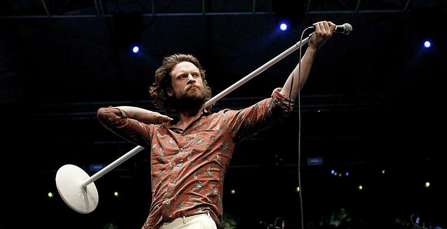 "Father John Misty:Former Fleet Foxes drummer Josh Tillman left the band and released his first solo album under this new moniker after several releases as J. Tillman. ""Fear Fun"" was on many year-end lists and it will be interesting to see how far Tillman's mostly hushed folk-rock will carry at Bonnaroo. Photo: Luis Sinco, MBR / Los Angeles Times"