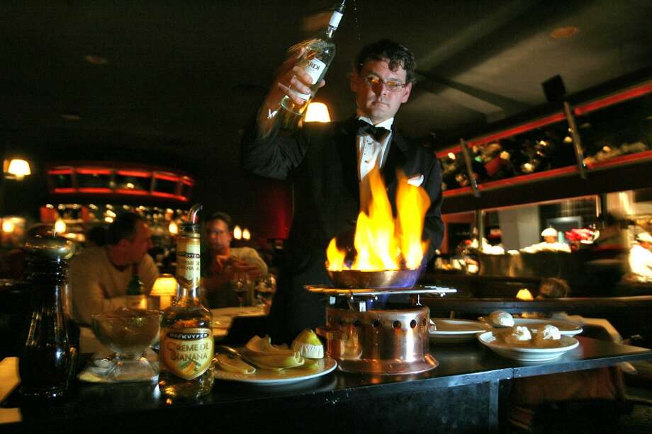 El Gaucho's Bananas Foster: If fog isn't your thing, how about fire? At swanky El Gaucho, you can order the dramatic, old-school dessert Bananas Foster (pictured) or Cherries Jubilee, which will summon fruit, liqueur and a tableside flambé. In Belltown, 2505 First Ave.