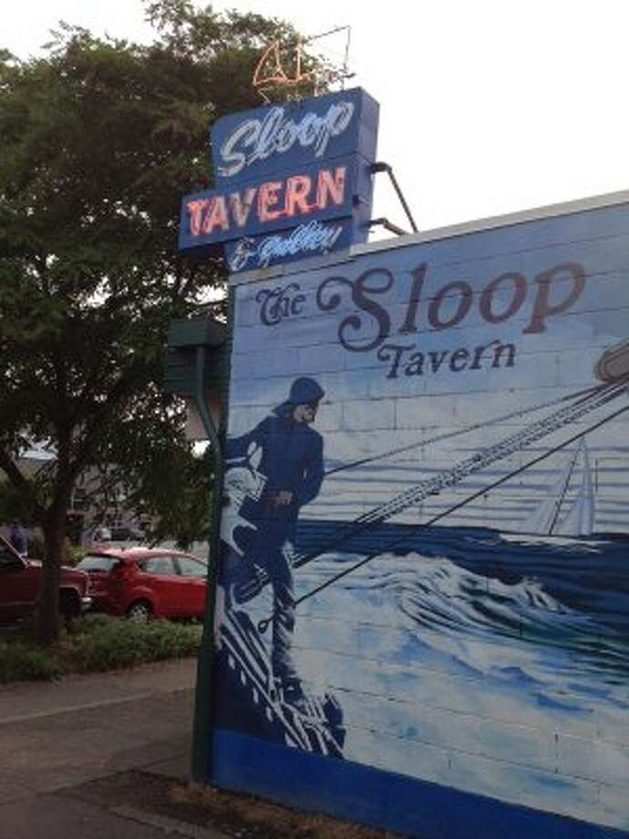 """Sloop Tavern's """"sloopersized"""" beers: When you need to hold something bigger than a dainty pint of beer, go to the Sloop. Their colossal, chilled, """"sloopersized"""" 33.8-ounce beer will get you through the night at $4.50 a pop. (Or $6.50 for microbrew). In Ballard, 2830 N.W. Market St."""