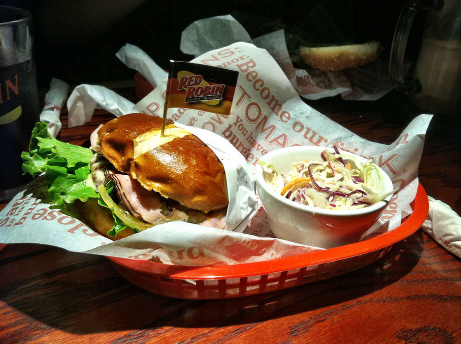 Red Robin: Seattle can claim fame for this burger chain with the feathery mascot, of which there are about 450 restaurants in the U.S. The first Red Robin opened in 1969 in Seattle's Eastlake neighborhood, at the south end of University Bridge.