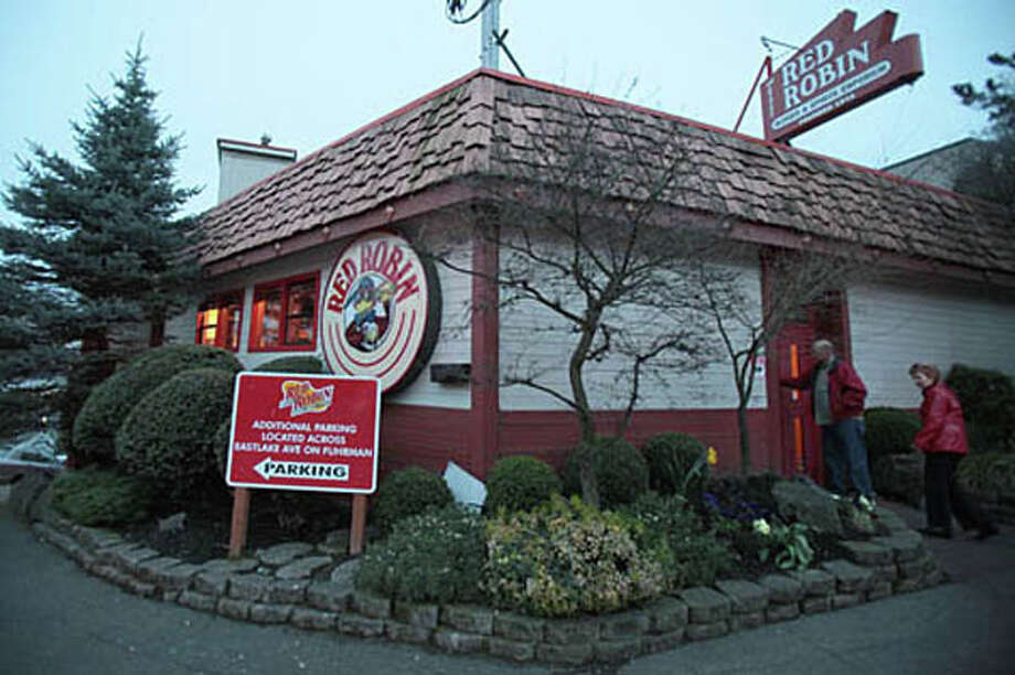 Sadly, the original Red Robin in Seattle, pictured, closed in 2010, when its building became too costly to maintain.