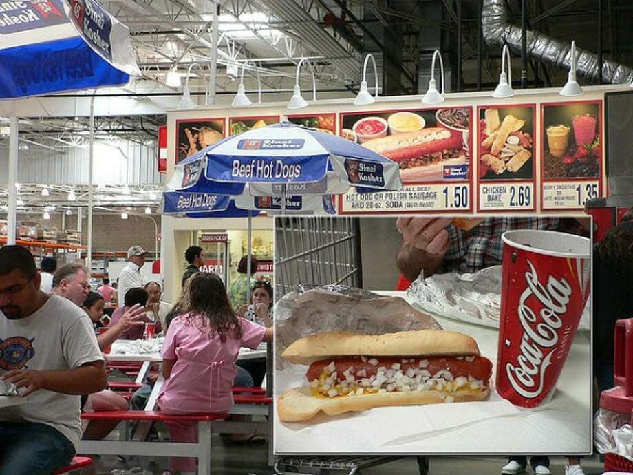 Costco's $1.50 hot dog-soda combo: The price for this crazy-popular meal from Issaquah-based Costco has been the same for 27 years. The retail giant sold 109 million combos at 600-plus warehouses worldwide in 2012, but recently announced a big change in the formula.