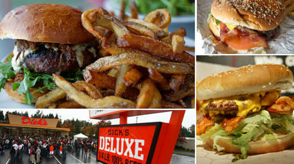 Seattle's best burgers range from a no-frills, counter-service patty for $1.25 to a luscious, half-pound mound of hand-ground chuck for nearly $20.