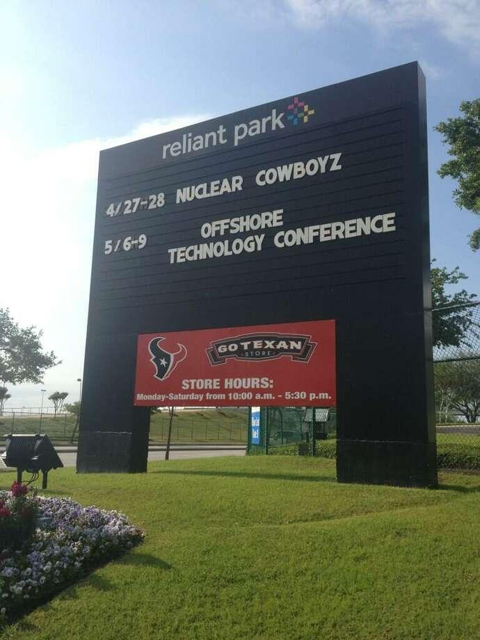 @OTCHouston via Twitter: RT if you'll be joining us in #Houston! CC: @ReliantPark #OTCHOUSTON