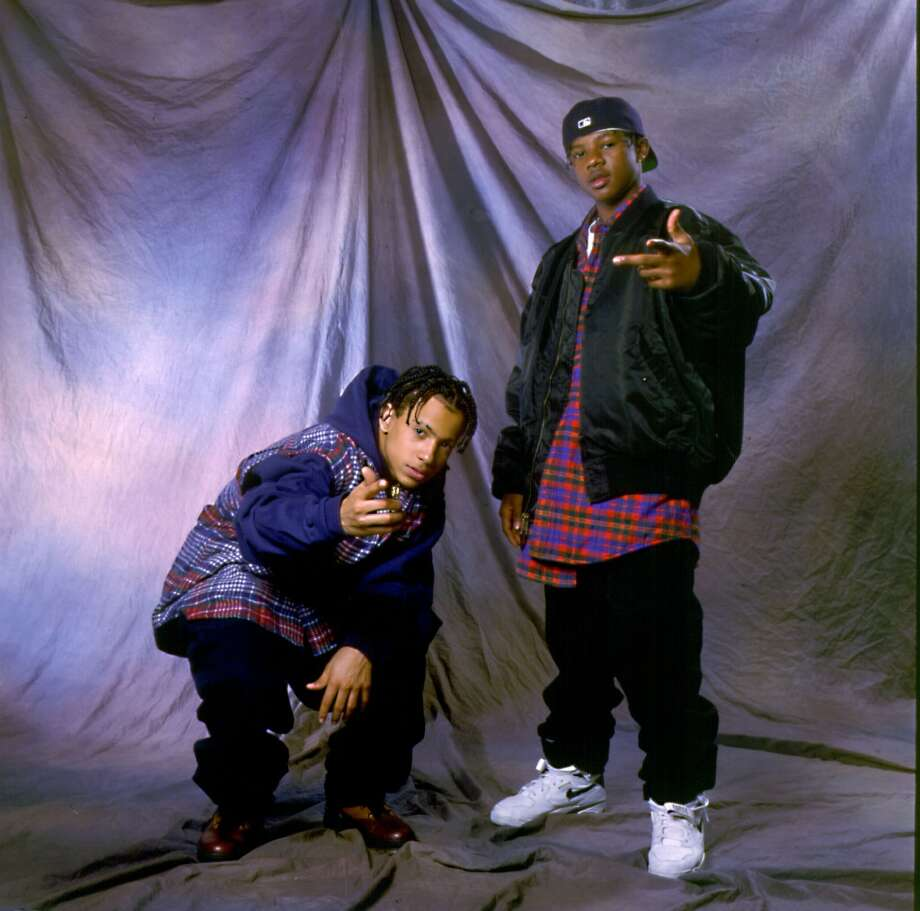 Kriss Kross on 1992 in Chicago, Il.  (Photo by Paul Natkin/WireImage) *** Local Caption ***