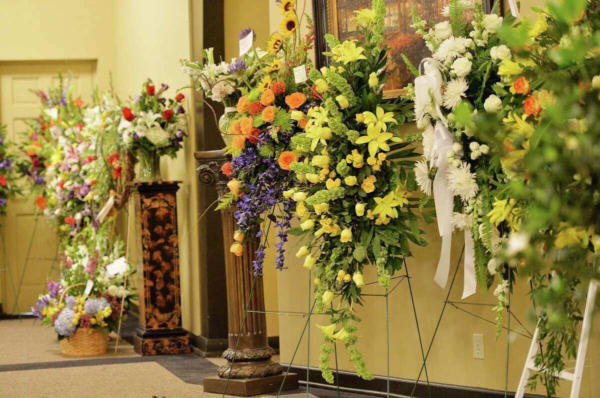 General view of the atmosphere at the private visitation for George Jones on May 1, 2013 in Nashville, Tennessee. Jones passed away on April 26, 2013 at the age of 81.