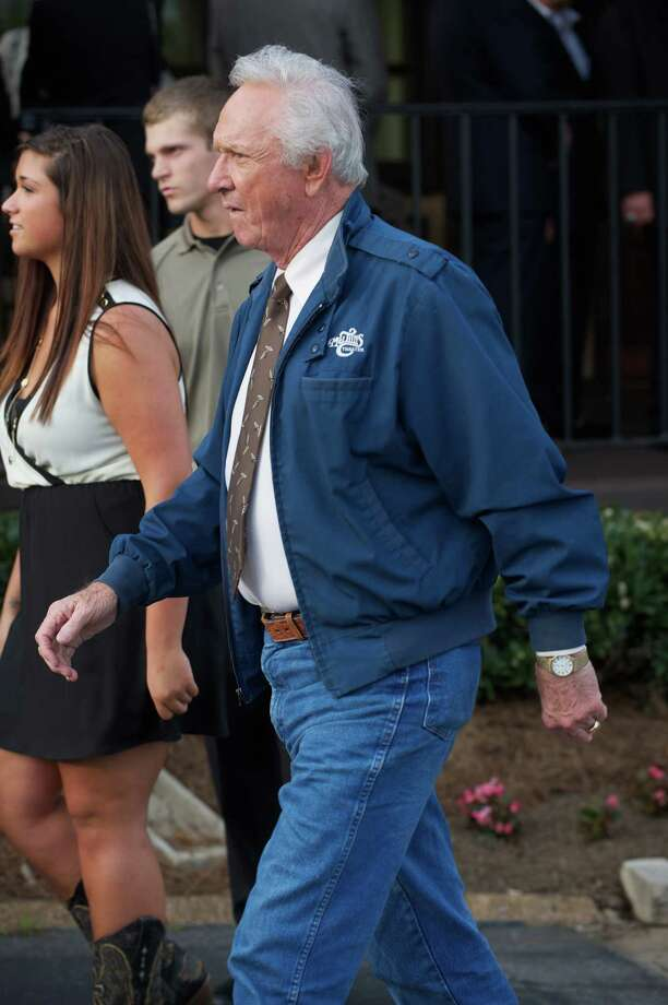 Musician Mel Tillis attends the private visitation for George Jones on May 1, 2013 in Nashville, Tennessee. Jones passed away on April 26, 2013 at the age of 81. Photo: Jason Davis, Getty / 2013 Getty Images