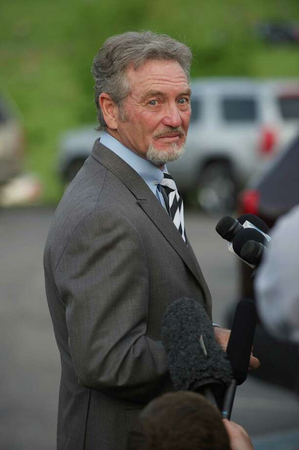 Musician Larry Gatlin attends the private visitation for George Jones on May 1, 2013 in Nashville, Tennessee. Jones passed away on April 26, 2013 at the age of 81. Photo: Jason Davis, Getty / 2013 Getty Images