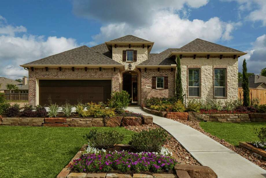 Trendmaker's new model is in WoodLake, a gated patio-home neighborhood in Oakhurst at Kingwood.