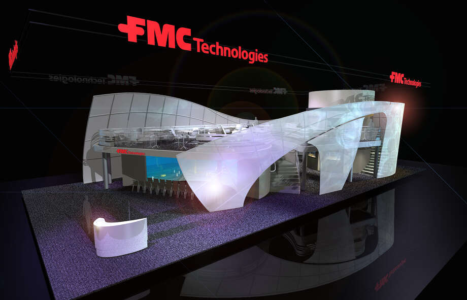 FMC's 5,000-square-foot booth was designed by award-winning Norwegian architectural firm Snøhetta and features a variety of state-of-the-art interactive displays and exhibits. It is no. 1941 at the conference.