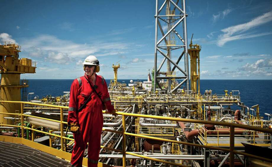 Nonengineering positions abound at SBM, and this employee is at work on the FPSO Espirito Santo. / SBM Offshore