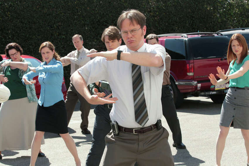 The Office: He was no Jim Halpert, but Dwight Schrute still seemed to do alright with the ladies and could dish out the bullying as well as he could take it.