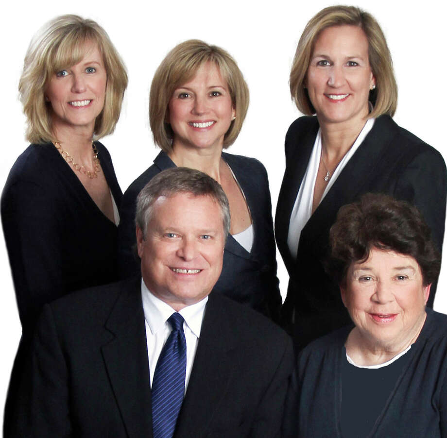 KMS Partners' agents are, from left to right top row, Sheila Keenan, Karen Scott and Susan Seath; and, from left to right bottom row, David Weber and Mary Ellen Gallagher. Photo: Contributed Photo