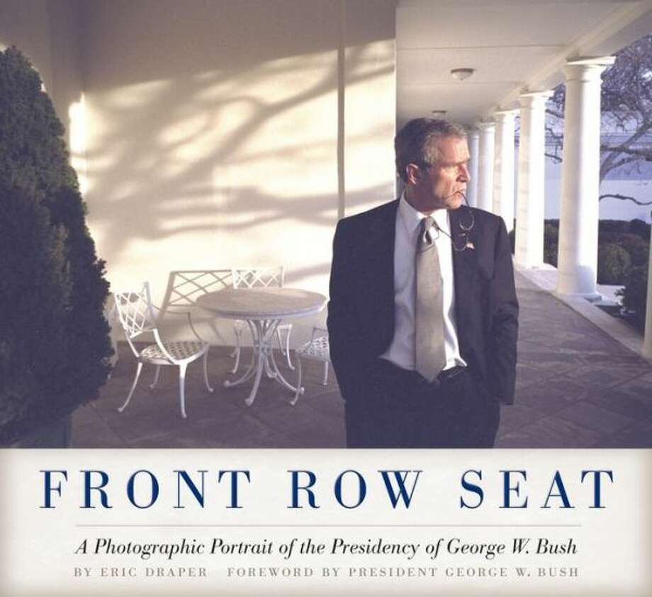 The new photo book from Eric Draper, chief White House photographer for both terms of President George W. Bush. (UT Press) Photo: Xx