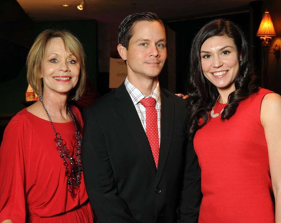 From left: Peggy Dixon, Justin Dixon and Alaina Dixon