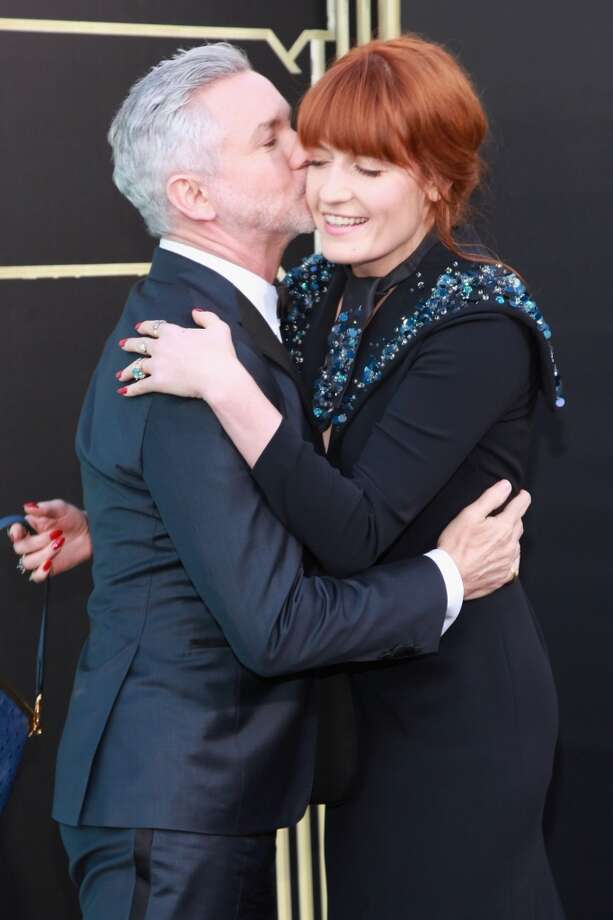"NEW YORK, NY - MAY 01:  Director Baz Luhrmann and Florence Welch attend ""The Great Gatsby"" world premiere at Alice Tully Hall at Lincoln Center on May 1, 2013 in New York City.  (Photo by Taylor Hill/FilmMagic)"