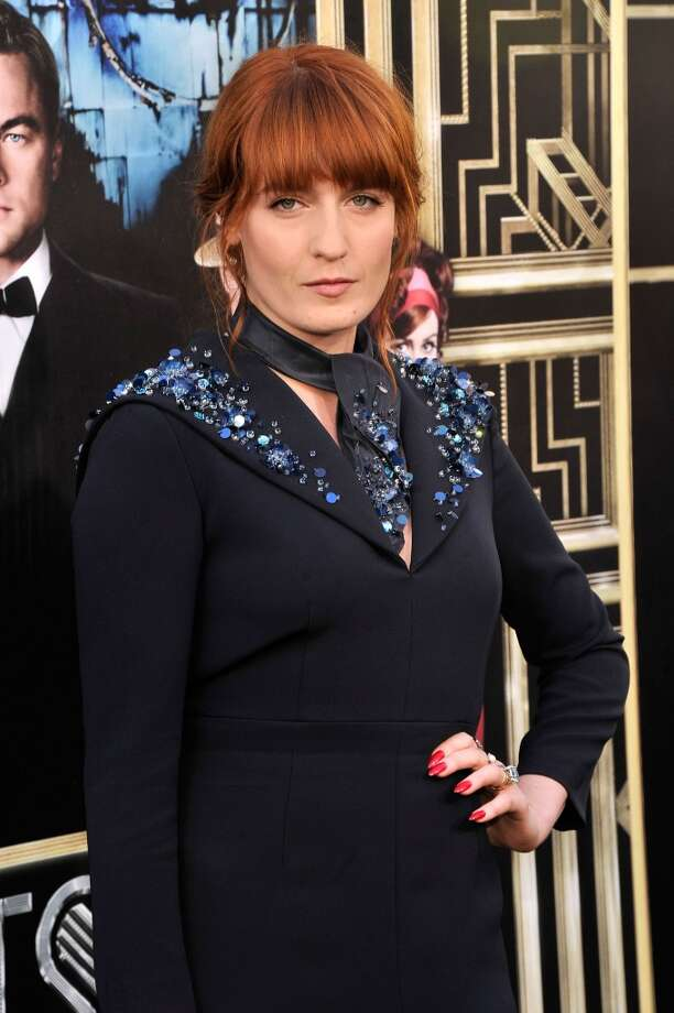 """NEW YORK, NY - MAY 01:  Musician Florence Welch attends the """"The Great Gatsby"""" world premiere at Avery Fisher Hall at Lincoln Center for the Performing Arts on May 1, 2013 in New York City.  (Photo by Stephen Lovekin/Getty Images)"""