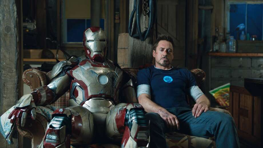Iron Man 3..Tony Stark/Iron Man (Robert Downey Jr.)..Film Frame..?Marvel Studios 2013