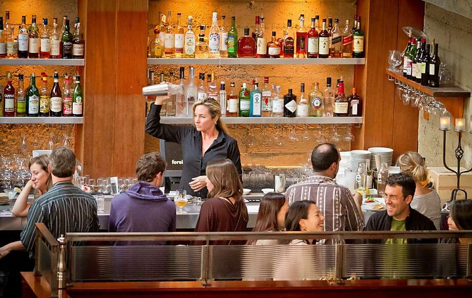Foreign Cinema bar in San Francisco, Calif. Photo: John Storey, Special To The Chronicle