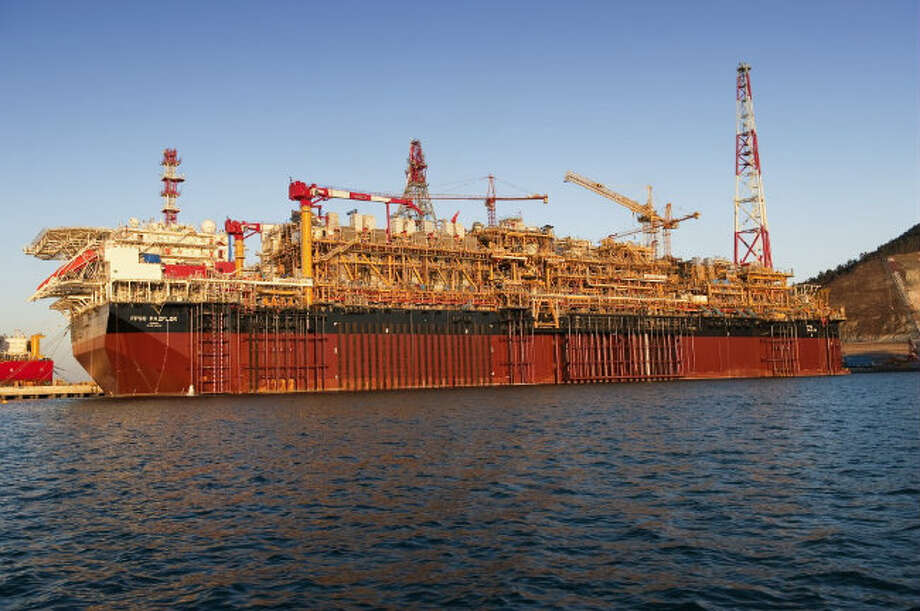 Total's Pazflor Floating Production Storage and Offloading vessel, or FPSO