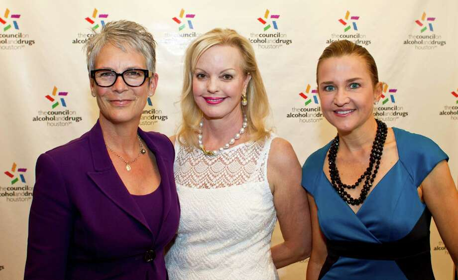 Jamie Lee Curtis, from left, Karen Bradshaw and Mary D'Andrea Photo: Nick De La Torre, Staff / © 2013 Houston Chronicle