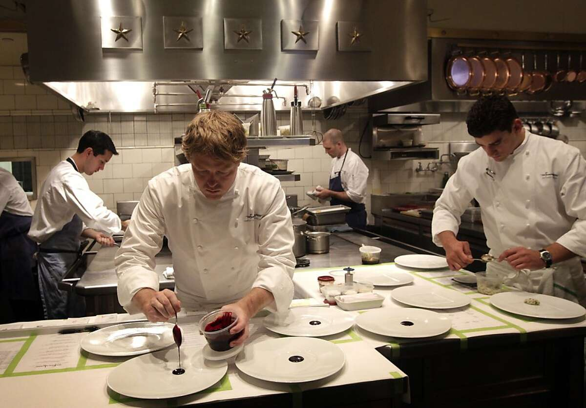French Laundry in Yountville Calif.