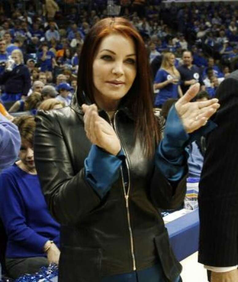 Priscilla Presley doesn't even look human anymore. Photo: AP