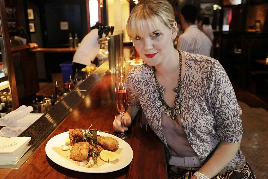 Anna Weinberg, the co-owner of Marlowe restaurant in San Francisco, Calif. Photo: Carlos Avila Gonzalez, The Chronicle