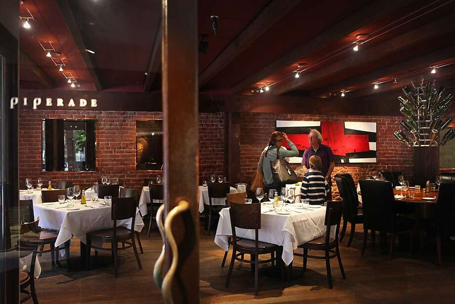 Piperade restaurant in San Francisco, Calif. Photo: Liz Hafalia, The Chronicle