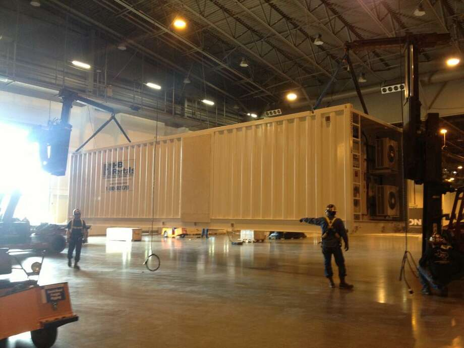 @FosterMarketing via Twitter: OTC is almost here! This week, we moved in HB Rentals' booth (#1341) weighing over 48 tons! See you at #OTCHouston